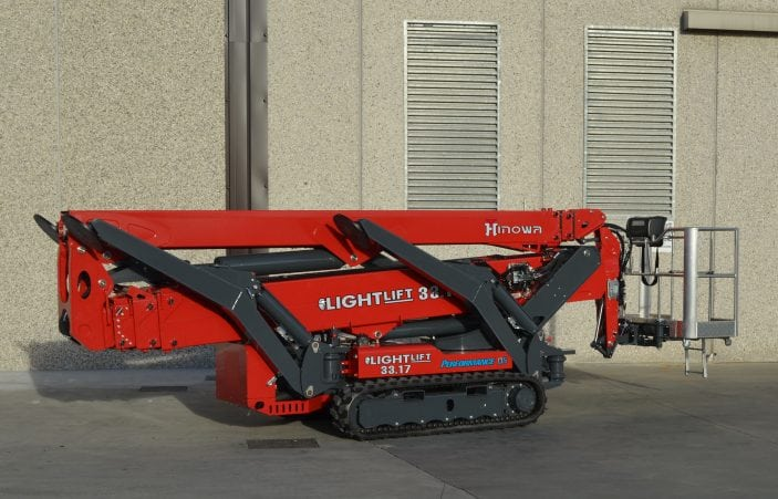 Hinowa Lightlift 33.17 Performance IIIS Zusammengeklappt